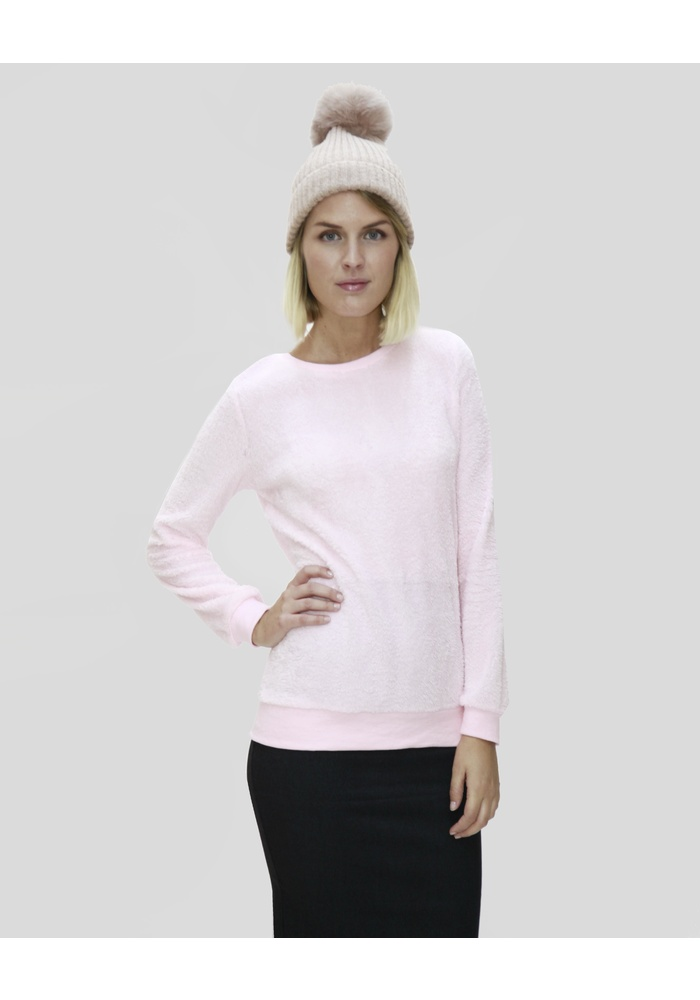 LOOSE FLEECE TOP