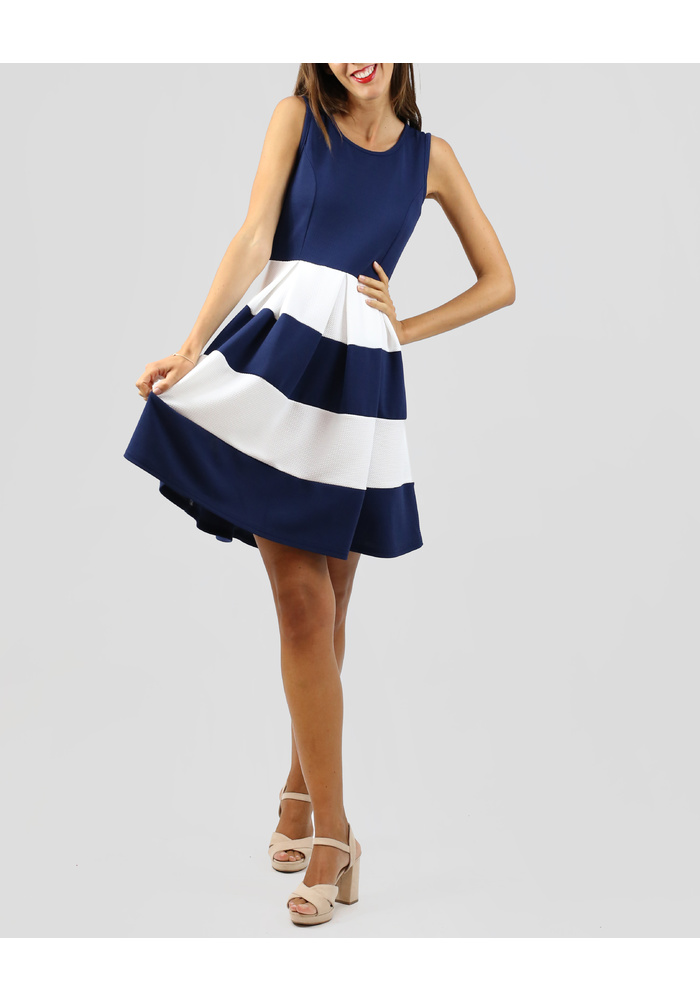 Marine Look Dress