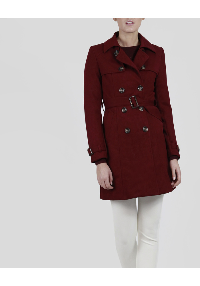 DOBLE BUTTON TRENCH COAT