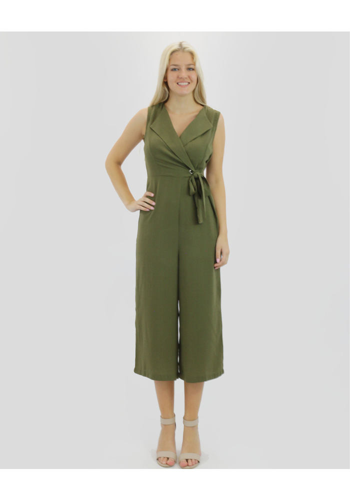 Side Tie Jumpsuit