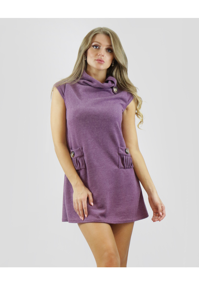 Jersey 2 Button Tunic