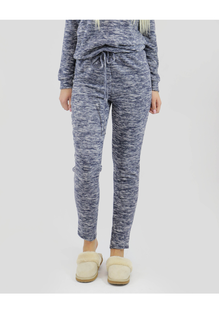 MARL FLEECE TRACK PANTS