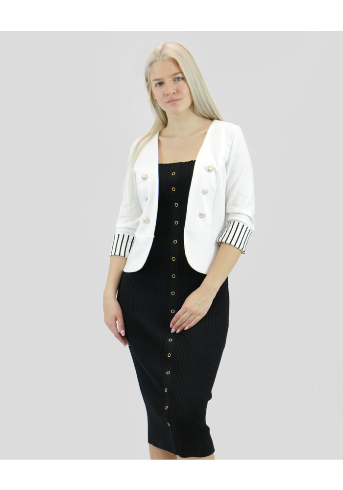 STRIPE LINED JACKET